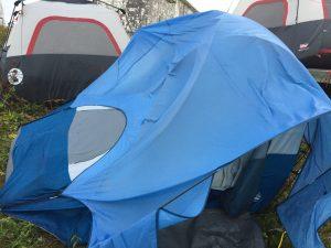 VA3QR/CY9's *Former* Tent