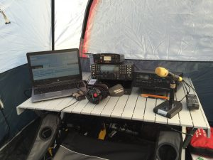 VA3QR's Operating Position