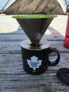 VA3QR's Camping Coffee Solution