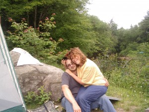 Phil & Cass Camping 2004
